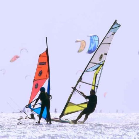 Juniorenkurs (unter 15 Jahren) - Windsurfen - Lagune