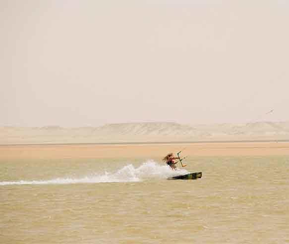 kitesurf speed