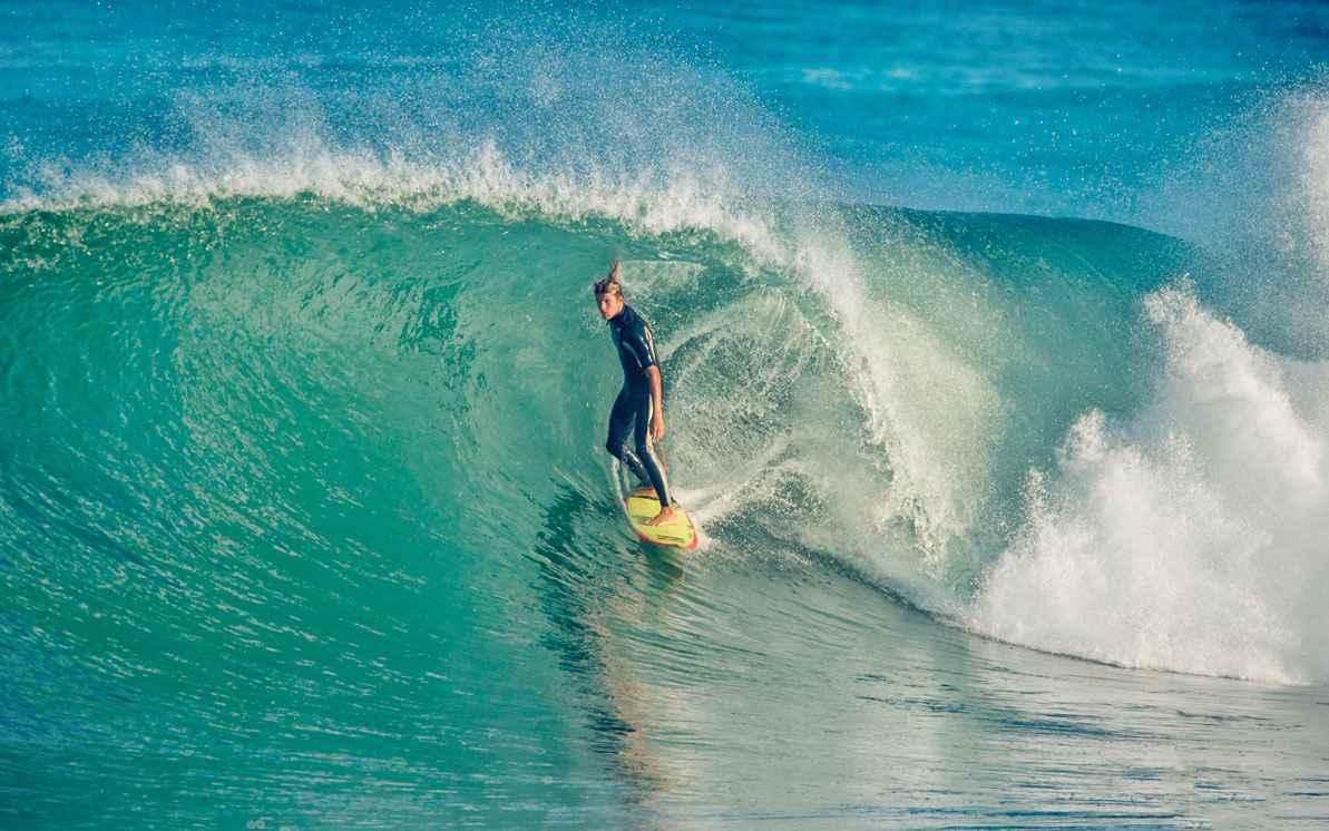 Cours privé Surf Lagon