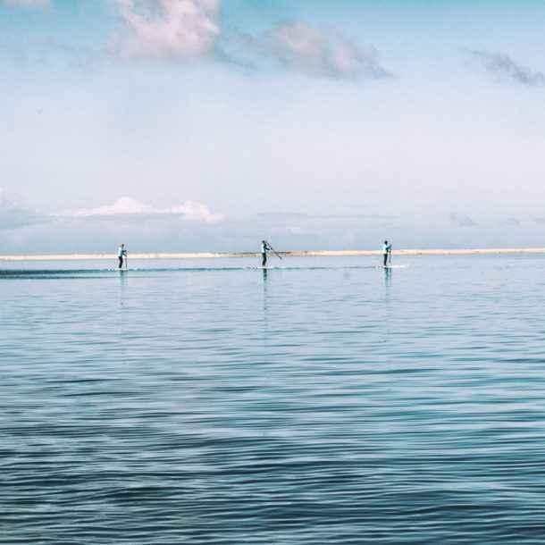 Halbprivater Kurs - Paddel - Lagune