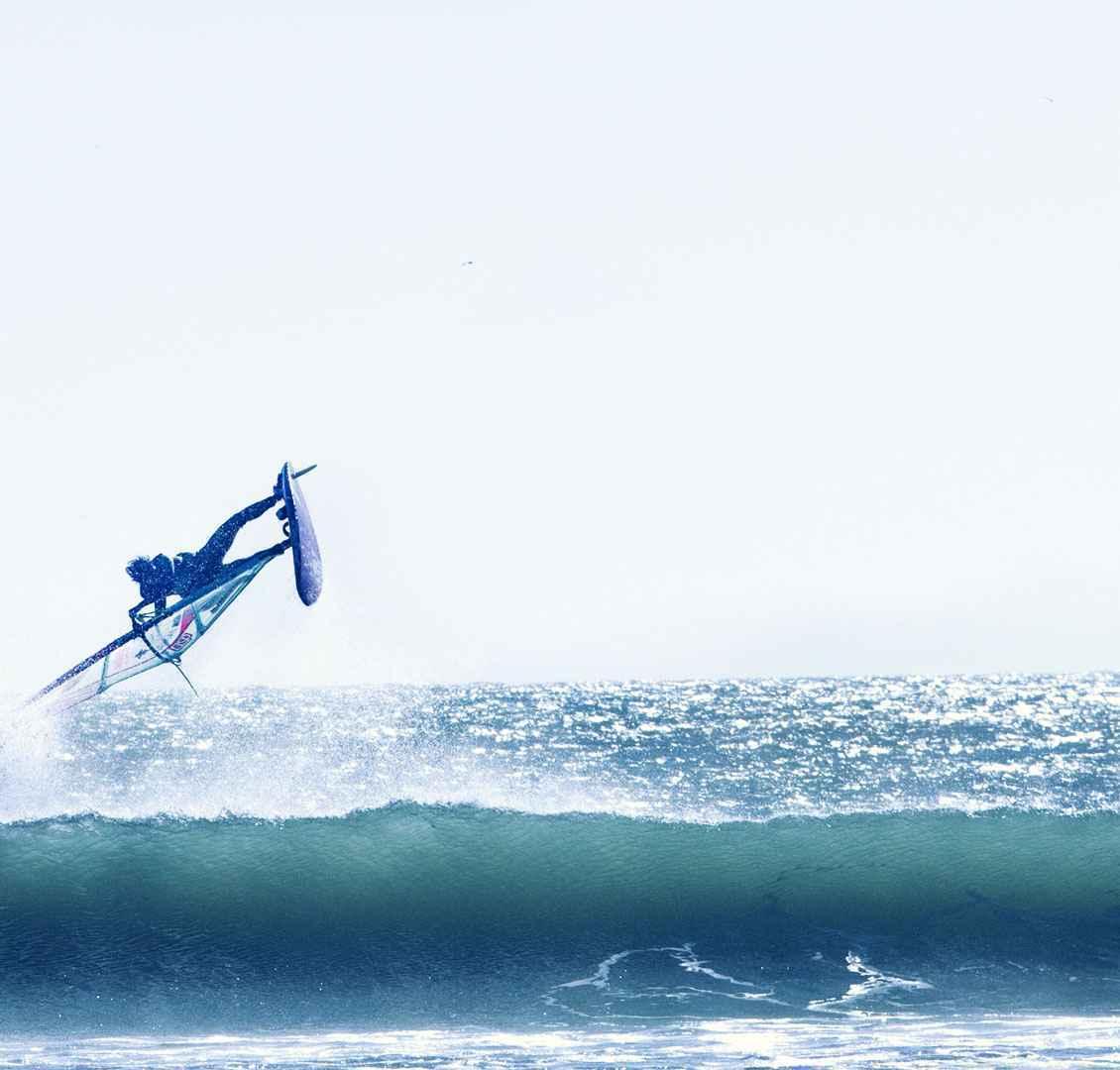 Cours en groupe Windsurf Lassarga