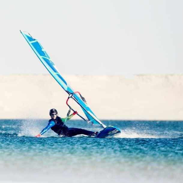 Cours en groupe - Windsurf - Lagon