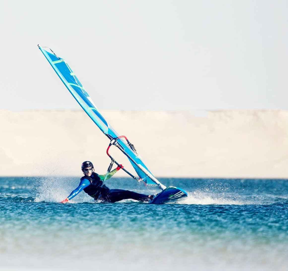 Cours en groupe Windsurf Lagon