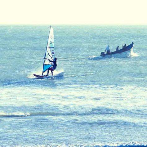 Lección privada - Windsurf - Lassarga