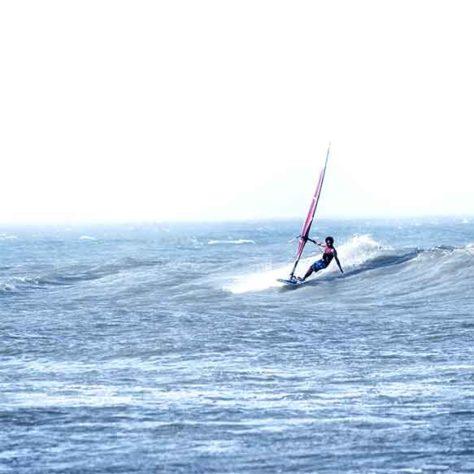 Privatunterricht - Windsurfen - Lagune
