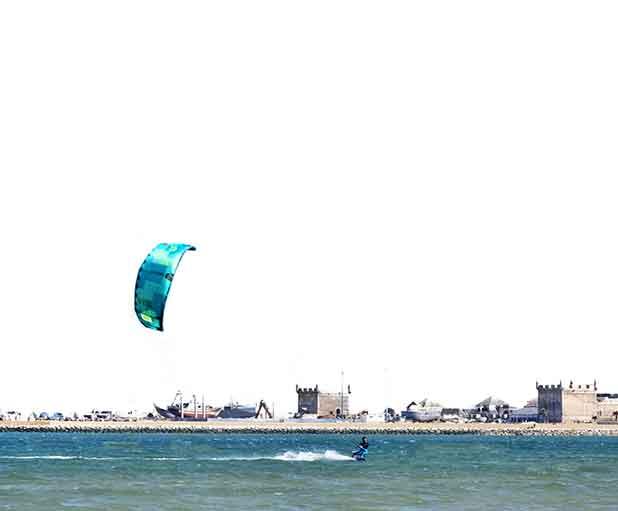 kitesurf essaouira course