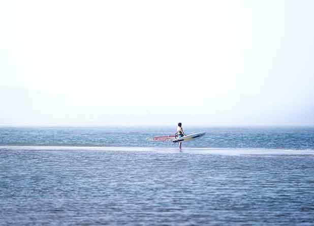 Matériel de windsurf
