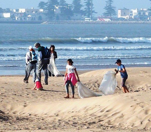 nettoyage des plages essaouira