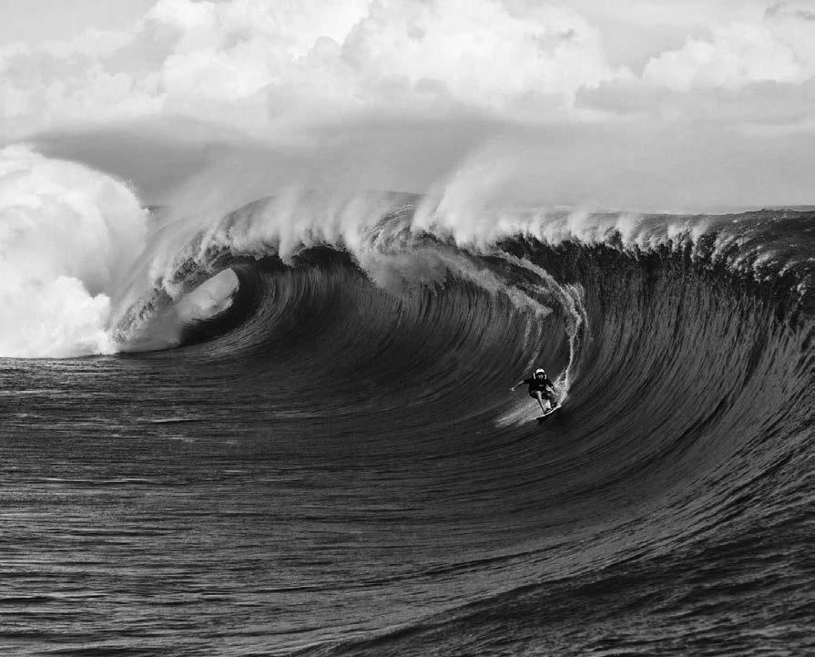 Surfer a Teahupoo