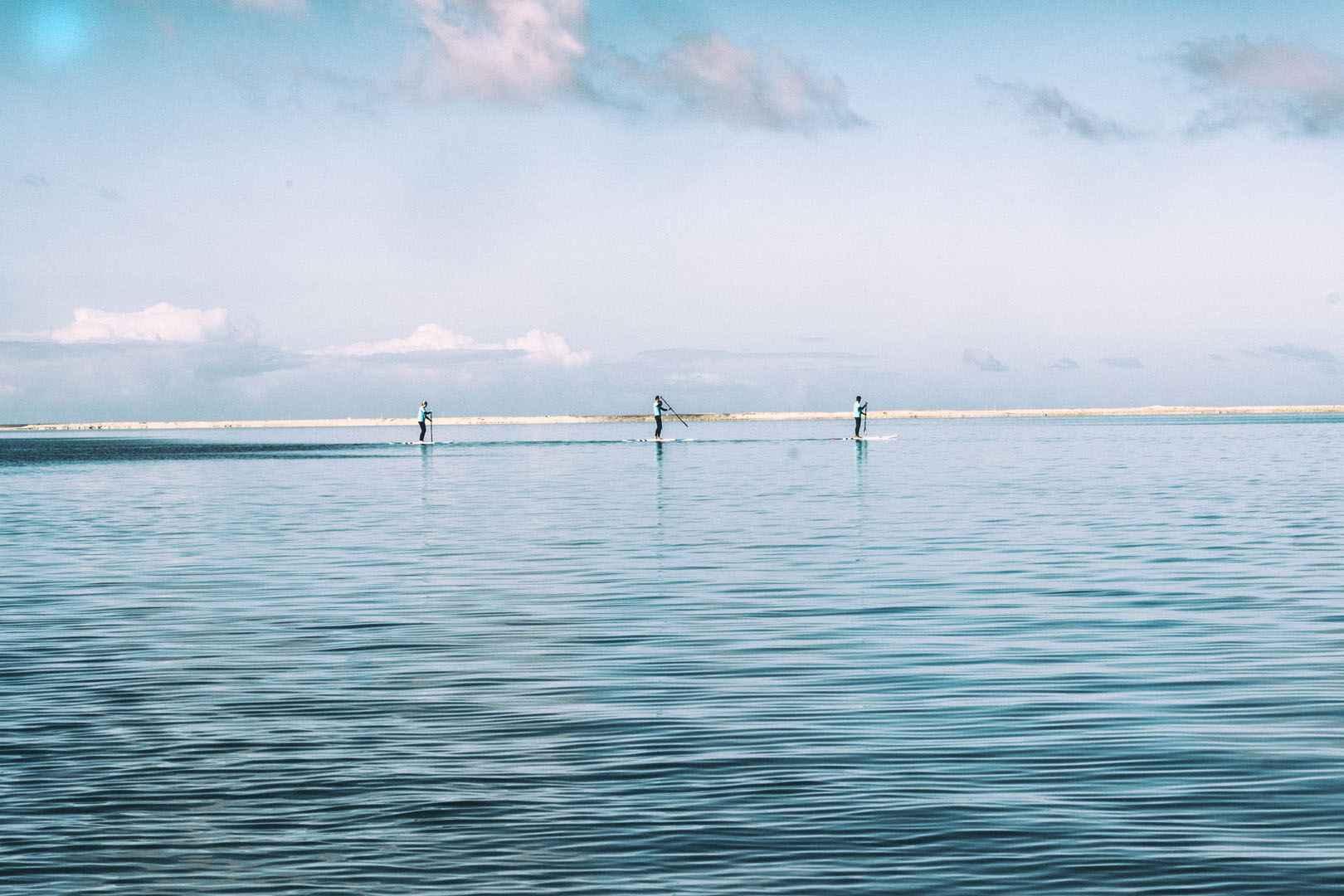 Cours semi-privé Paddle Lagon