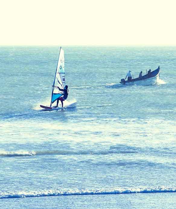 Cours privé Windsurf Lassarga