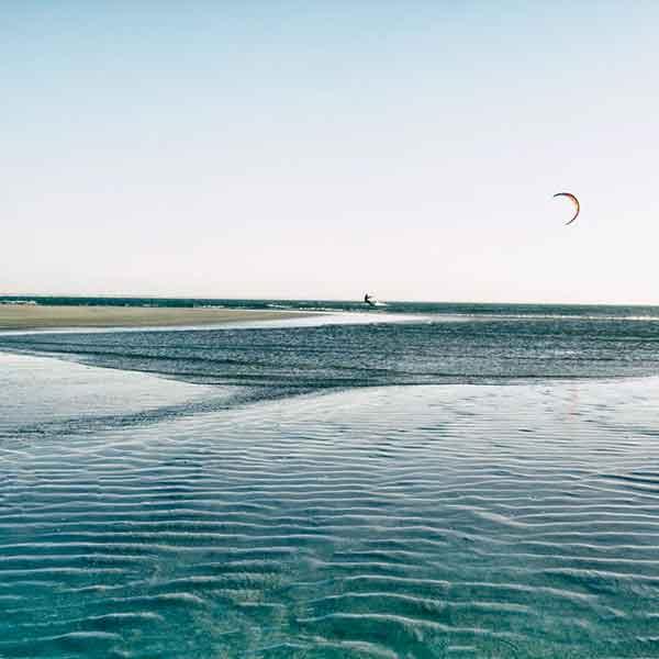 Anfänger Kitesurfen