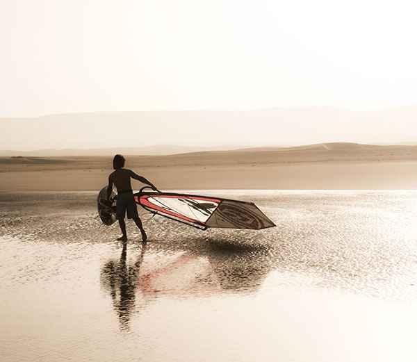 Spot de windsurf