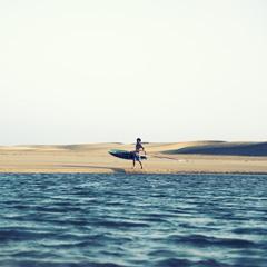 Desert et océan
