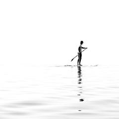 Paddle noir et blanc